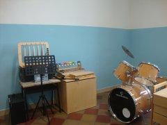"""Plesso """"Bosco"""" - Aula musicale"""